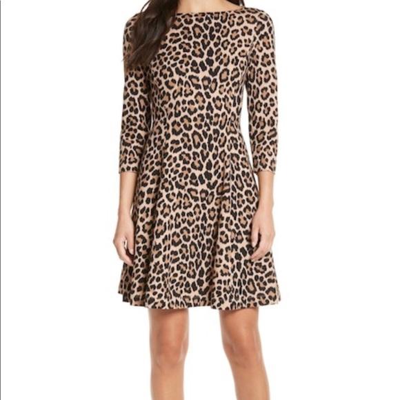 2f420bd5838 Kate Spade leopard print dress